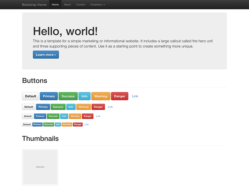 bootstrap 3.1.1
