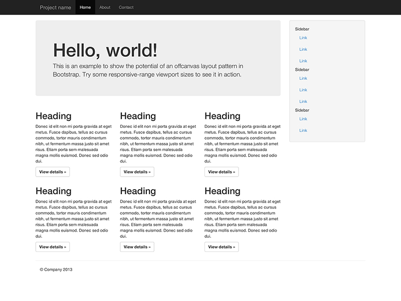 Getting started · Bootstrap 3 2 0 Documentation - BootstrapDocs