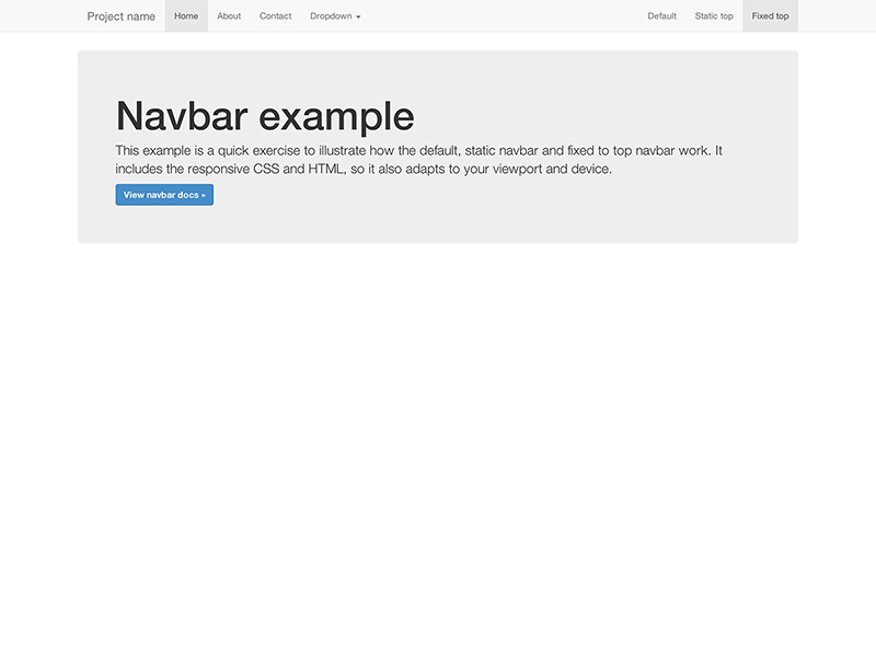 Bootstrap themes from bootply.